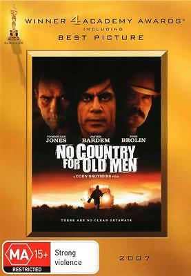 No Country for Old Men (Academy Awards)  - DVD - NEW Region 4