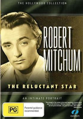 Robert Mitchum: The Reluctant Star  - DVD - NEW Region 4