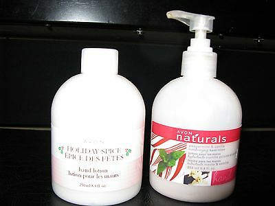 Lot Of 2 Avon Hand Lotion,one New,sealed,one Used,half Full