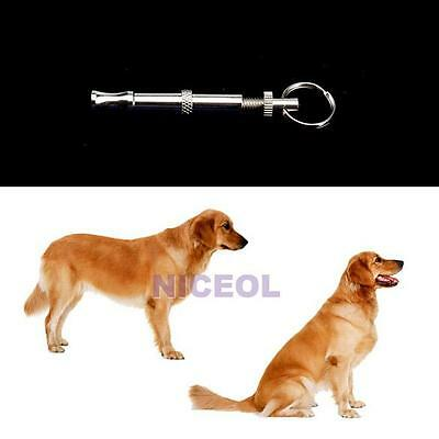 Pet Dog Puppy Animal Obedience Training Supersonic Sound Whistle