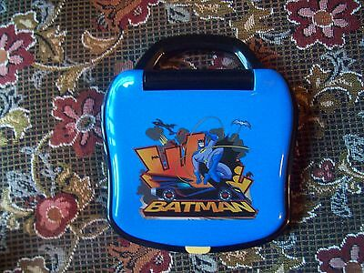 BATMAN THE BRAVE AND THE BOLD ELECTRIC MINI TOY COMPUTER LEARNING TOY