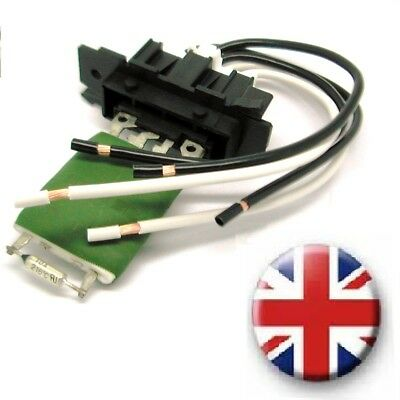 Alfa Romeo Mito Heater Blower Resistor AND Wiring Harness Loom repair kit plug