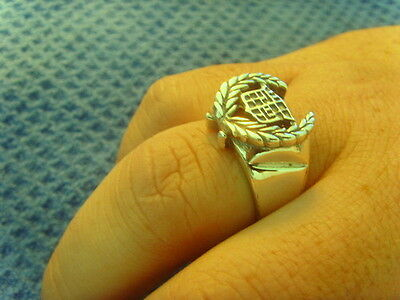 Rare collecting CADILLAC STERLING SILVER 925 RING size 13