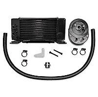 Jagg Horizontal Low-Mount Fan-Assisted Kit 84-08 Flh Models In Black Harley