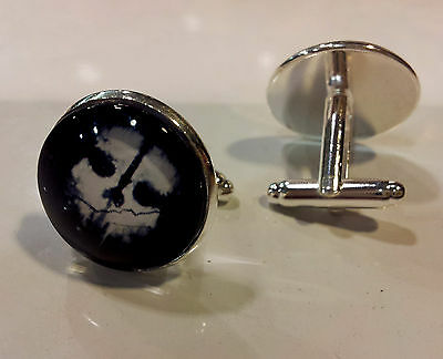 Boutons De Manchette Cagoul Style Ghost Call Of Duty Cufflinks Bouton Manchettes