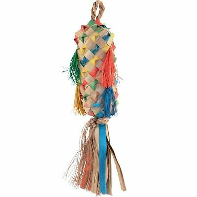 Planet Pleasures Spiked Pinata *EVERY SIZE* Parrot Shredding Toy Parakeet Parrot