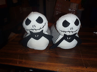 Nightmare Before Christmas Plush House Slippers New Adult Sizes