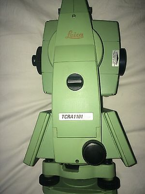 Leica TCRA 1101+ Total Station in Excellent Condition