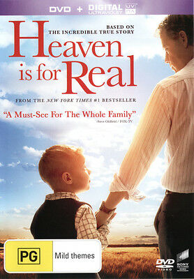 Heaven is for Real (DVD/UV)  - DVD - NEW Region 4, 2