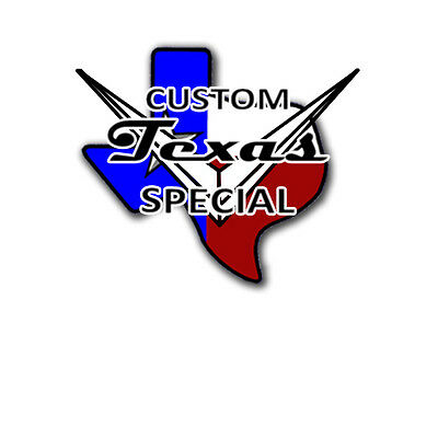 Custom Shop  Waterslide Guitar Headstock Decals