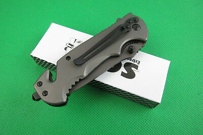 SOG Tactical Assisted Opening Rescue Knife Folding Pocket Camping Saber Gift a70