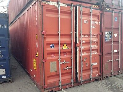 40ft Seecontainer Lager- Container Container Bürocntainer Reifenlager