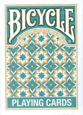 Bicycle Madison Deck - Teal - Playing Cards - Magic Tricks - New