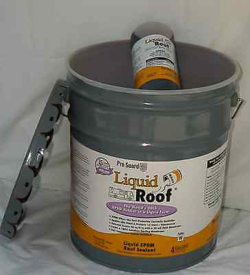 Liquid Roof Liquid EPDM RV Roof Coating 4 Gallon F9991/4