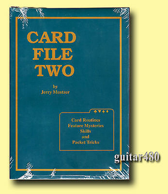 CARD FILE TWO • MENTZER • Great CARD MAGIC • NEW Shrink-Wrapped • Great Price!