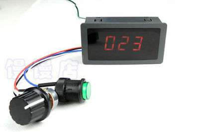 Dc 6-30V 12V 24V Max 8A Motor Pwm Speed Control With Digital Display & Switch