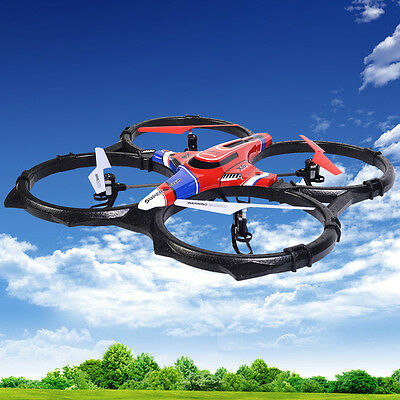 Large Syma X6 4-Axis Quadcopter UFO Helicopter 4H Remote Control 2.4G RC Radio