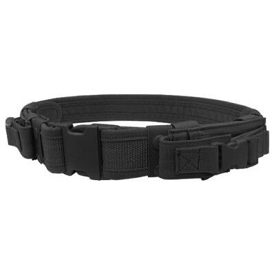 Condor Tactical Belt With Pistol Mag Pouches Police Patrol Security Guard Black