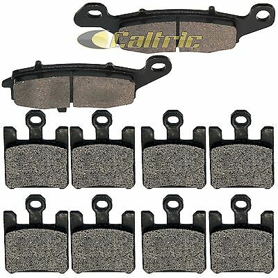 FRONT & REAR BRAKE PADS Fits KAWASAKI Vulcan 1600 VN1600 Mean Streak 2005-2008