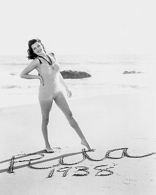 Rita Hayworth Beachside Swimsuit Pin Up 1938