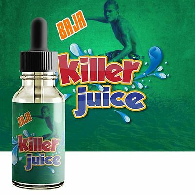 MTN Dew Juice - Baja Blast PREMIUM E liquid Juice US Made 15ml 0 Nicotine