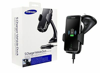 Genuine Samsung Qi Wireless Car S Charger Dock Holder For Galaxy S6,S7+,Note 7