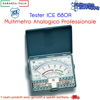 Multimetro Tester Analogico 680R Ice Originale