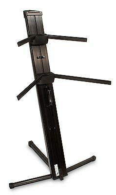 Ultimate Support - APEX AX48PRO Two-tier Portable Column Keyboard Stand (Black)