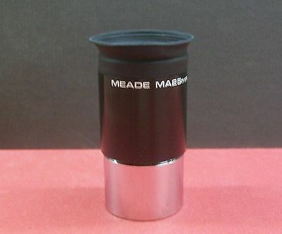 "Meade MA 25mm 1.25"" Multicoated Telescope Eyepiece with Plastic Case -- NEW!"