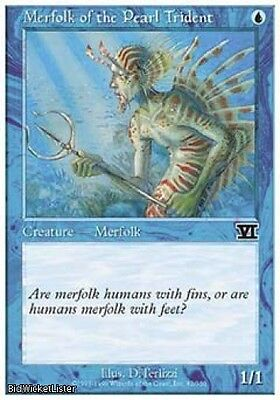 Merfolk of the Pearl Trident x4 Near Mint Normal English Magic the Gathering