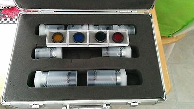 MEADE TELESCOPE EYEPIECE SET WITH CASE - 1.25 INCH, SUPER PLOSSL, 8 PIECES