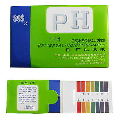 Universal  Indicator Test Strips Paper for Body Water Soil Food 1-14 pH