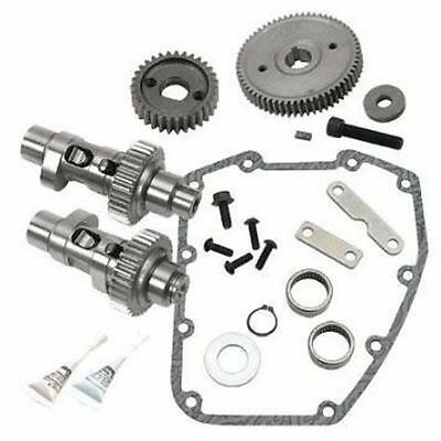S&s Cycle 585Ge Easy Start Gear Drive Camshaft Kit 2007-Up Big Twin Suit Harley