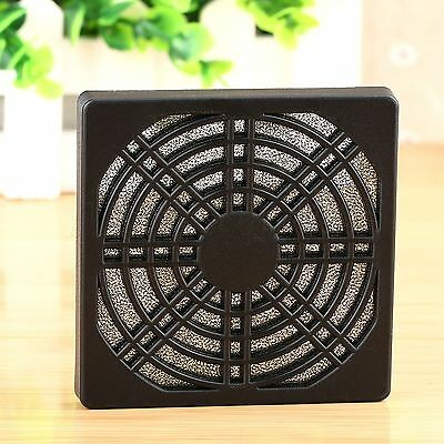 Dustproof 80mm Case Fan Dust Filter Guard Grill Protector Cover for PC Computer