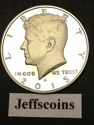 2015 S Kennedy Half Dollar Clad Proof Early Strike President Cameo Best Grading