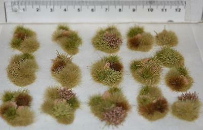 Model Desert Scenery Self Adhesive - Rail wargame basing, Tufts, Bushes, Shrubs