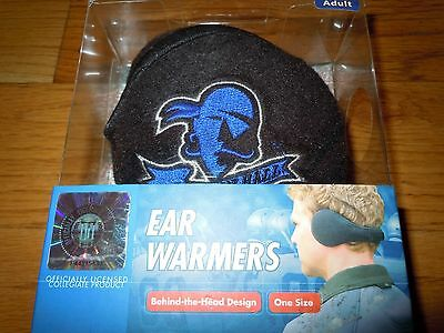 NIB DEGREES BY 180s Licensed College Ear Muffs Warmers SETON HALL PIRATES $35
