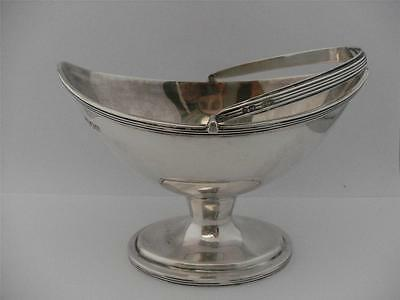 BEAUTIFUL STERLING SILVER BON BON TRAY DISH BOWL London 1902