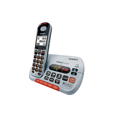 Uniden Cordless Phone Digital Answering Machine + TTS and T-Coil DECT & DND