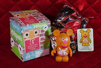 "Disney 3"" Vinylmation - The Muppets Series #1 - Fozzie the Bear"