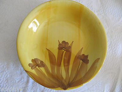 Ironstone Handcrafted S. Giovanni Valdarno Soup Plate Made in Italy MINT Cond.