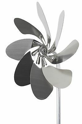 """A1003 - steel4you windmill chimes """"Speedy 28"""" stainless steel decoration garden"""