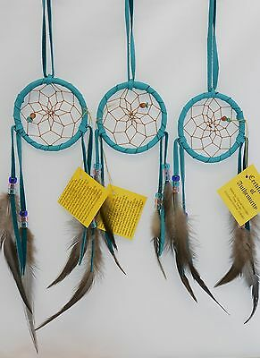 Dreamcatcher Native American Dream catcher 3 Inches Diameter  Authentic Navajo