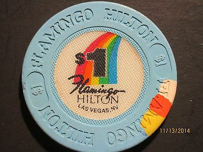 Flmingo Hilton Las Vegas $1 Gaming Chip