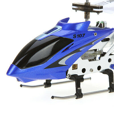 Syma S107G 3 Channel RC Infrared Remote Control Helicopter with Gyro - Genuine C