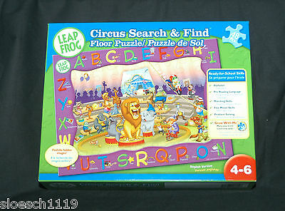 Leap Frog Circus Search & Find Floor Puzzle - 48 Pieces - Ages 4-6