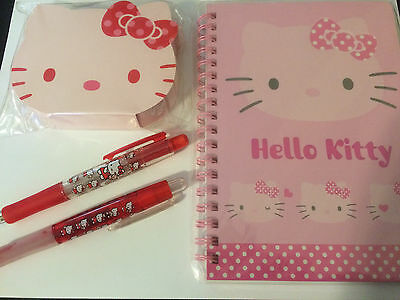 Authentic 25 piece Sanrio Hello Kitty Stationery Set