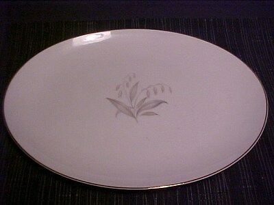 VTG 1961 Kaysons Large Oval Platter*Golden Rhapsody* FineChina Made in Japan