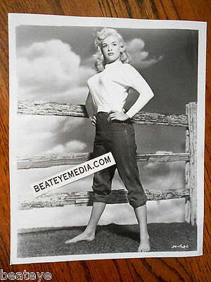 JAYNE MANSFIELD PHOTO-LOBBY CARD-CULT,EXPLOITATION,SEX-PIN UP-monroe-playboy-tv