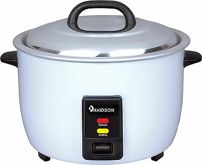 Davidson Commercial Rice Cooker 7.8L Cooking/Keep Warm 45 Cup CFXB-190 15A power